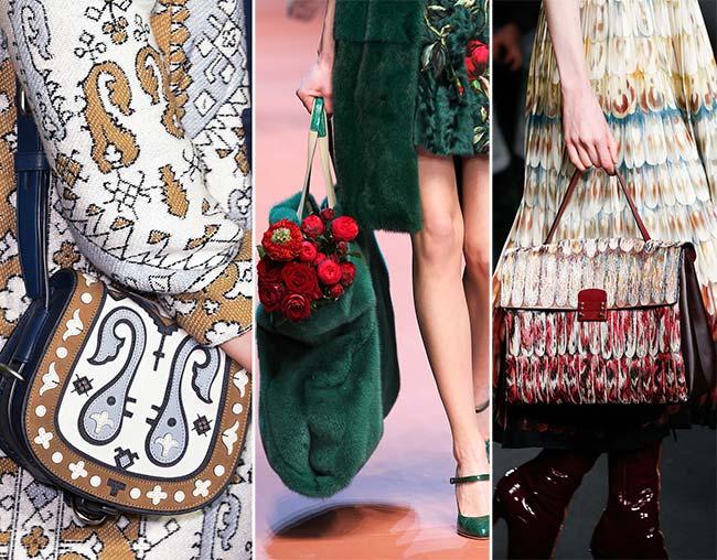 Fall Winter 2018 Handbag Trends Handbags Matching The Outfits