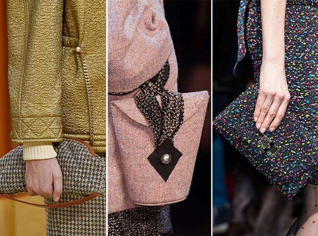 Fall/ Winter 2015-2016 Handbag Trends: Handbags Matching The Outfits