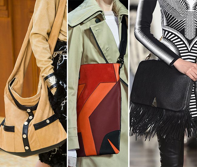 Fall/ Winter 2015-2016 Handbag Trends: Messenger Handbags
