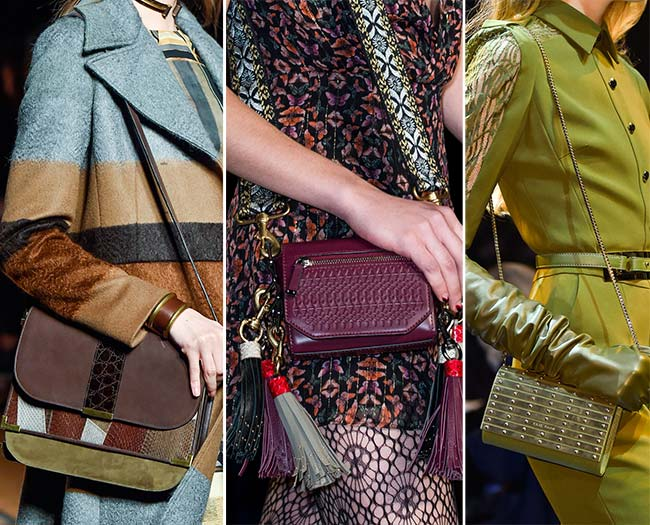Fall/ Winter 2015-2016 Handbag Trends: Over-the-Shoulder Bags