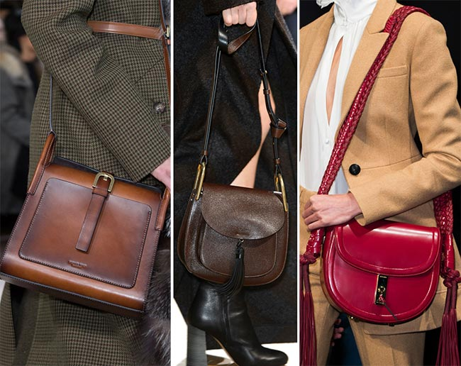 Fall/ Winter 2015-2016 Handbag Trends: Saddle Bags