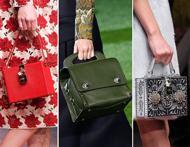 Fall/ Winter 2015-2016 Handbag Trends: Square Boxy Handbags