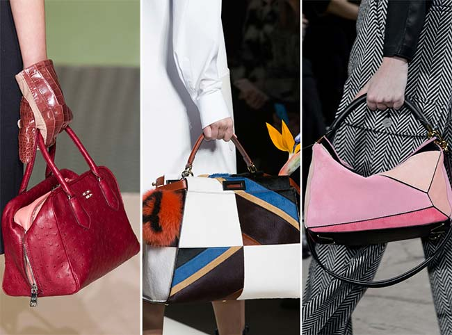 Fall/ Winter 2015-2016 Handbag Trends: Structured Handbags