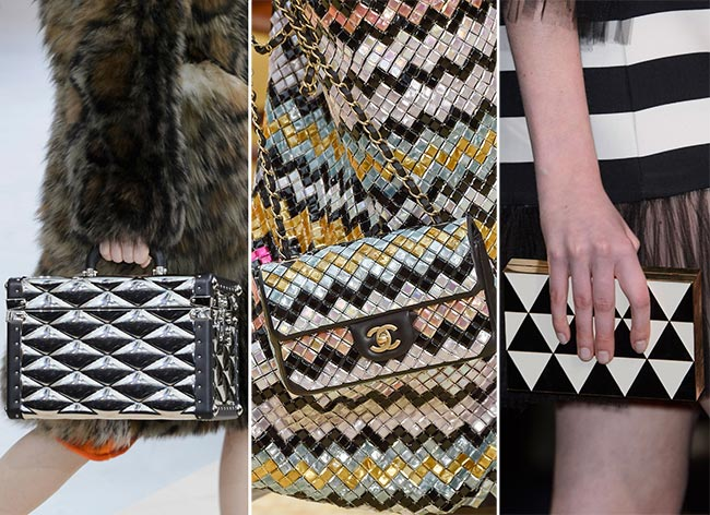 Fall/ Winter 2015-2016 Handbag Trends: Tiled Handbags