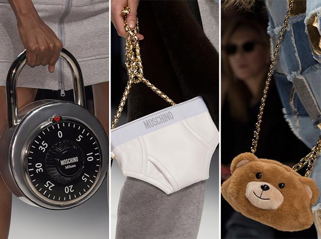Fall/ Winter 2015-2016 Handbag Trends: Unusual, Quirky Bags