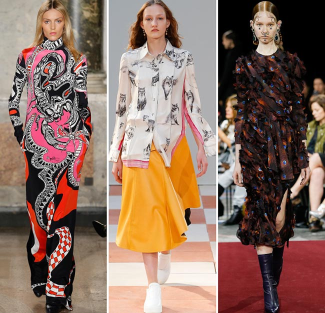 Fall/ Winter 2015-2016 Print Trends: Animal Patterns