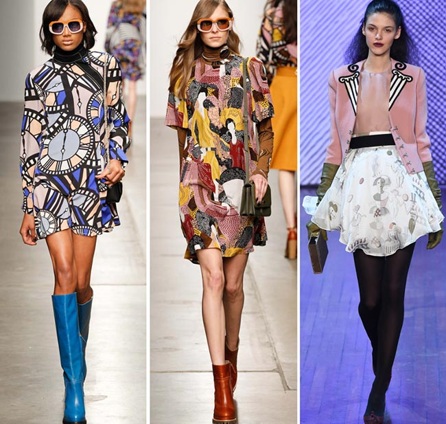 Fall/ Winter 2015-2016 Print Trends: Bizarre Alternative Patterns