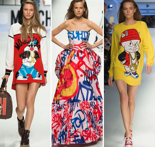 Fall/ Winter 2015-2016 Print Trends: Graffiti & Hip Hop Patterns
