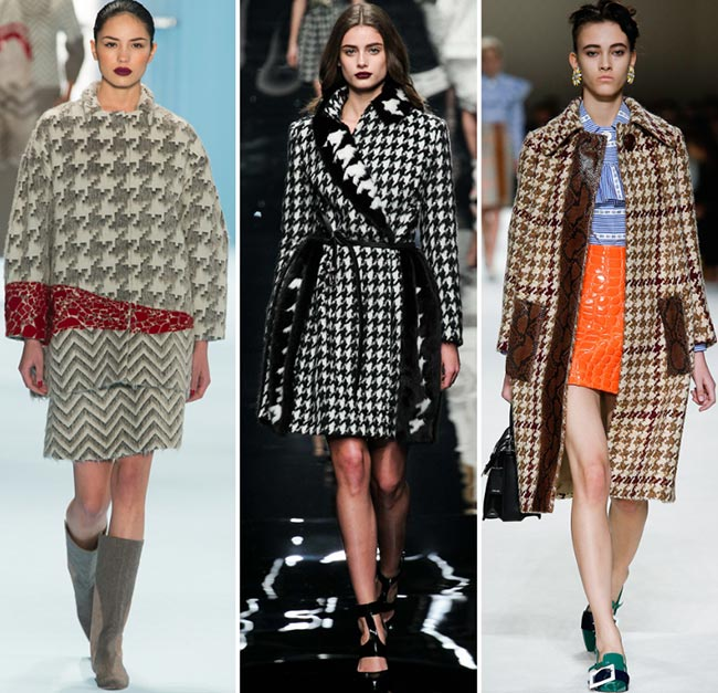 Fall/ Winter 2015-2016 Print Trends: Houndstooth Patterns