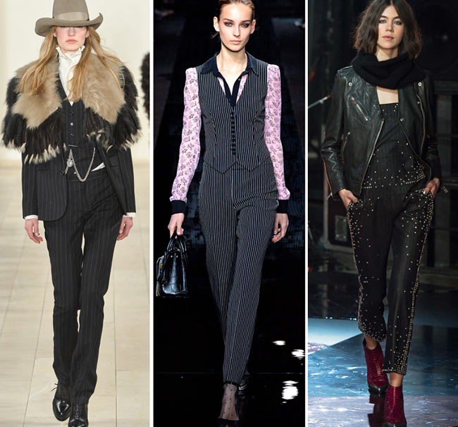 Fall/ Winter 2015-2016 Print Trends: Pinstripe Patterns