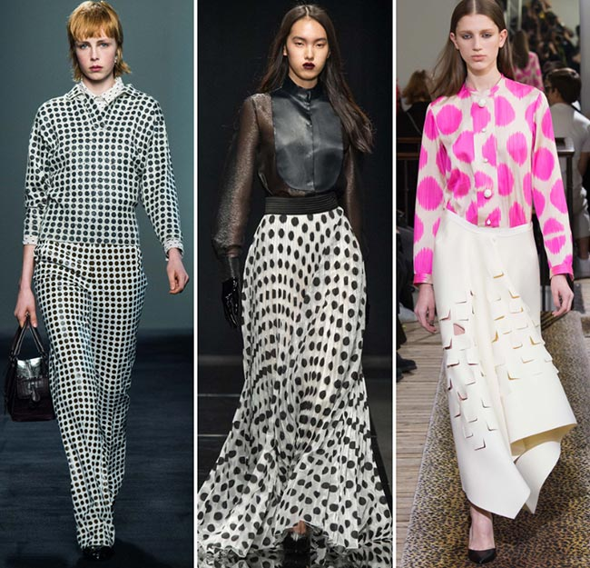 Fall/ Winter 2015-2016 Print Trends: Polka Dots