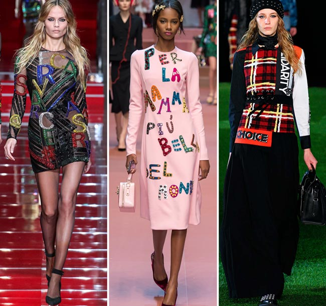 Fall/ Winter 2015-2016 Print Trends: Word Patterns