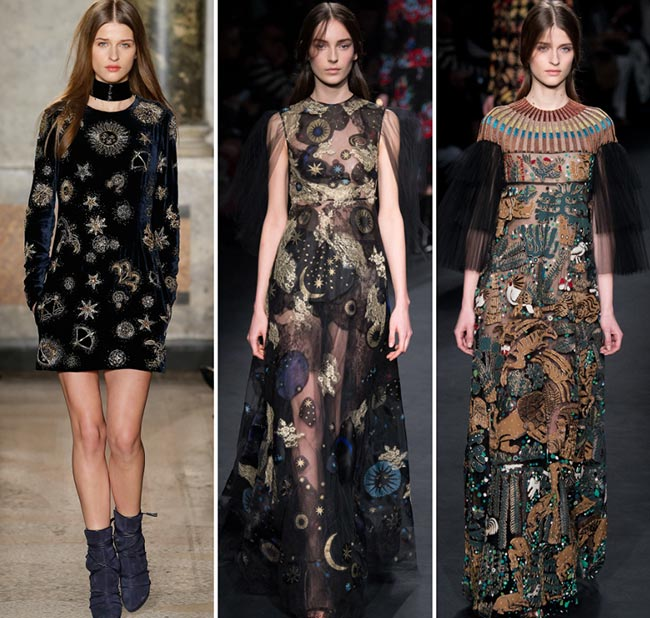 Fall/ Winter 2015-2016 Print Trends: Zodiac Patterns