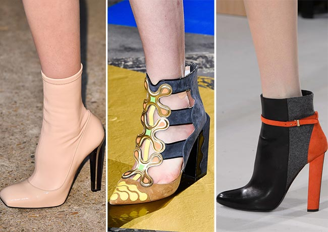 Fall/ Winter 2015-2016 Shoe Trends: Ankle Booties
