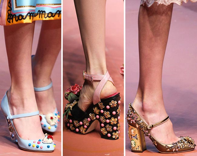 Fall/ Winter 2015-2016 Shoe Trends: Bejewelled, Embellished Shoes