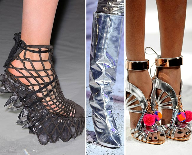 Fall/ Winter 2015-2016 Shoe Trends: Futuristic Space Age Shoes