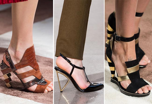 Fall/ Winter 2015-2016 Shoe Trends: Geometric Shoes