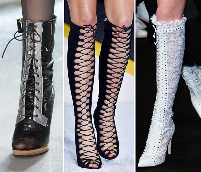 Fall/ Winter 2015-2016 Shoe Trends: Lace-Up Boots