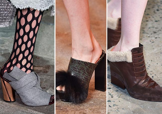 Fall/ Winter 2015-2016 Shoe Trends: Slippers, Slides, Mules