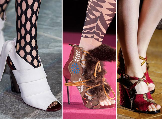 Fall/ Winter 2015-2016 Shoe Trends: Peep-Toe Shoes