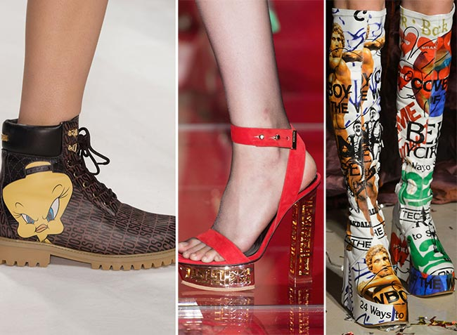 Fall/ Winter 2015-2016 Shoe Trends: Shoes With Letters and Logos
