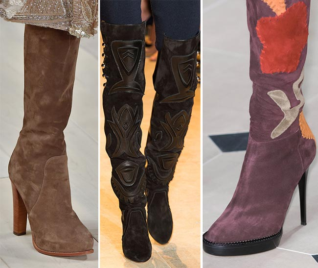Fall/ Winter 2015-2016 Shoe Trends: Suede Shoes