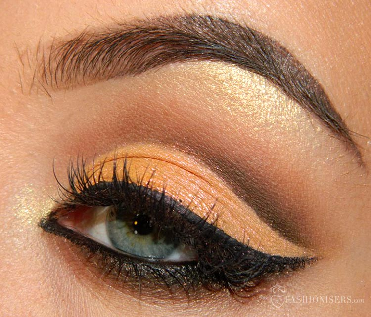 Mellow & Brown Cut Crease Eye Makeup Tutorial