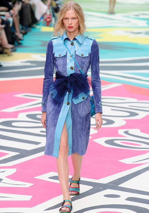 7 Cool Ways to Wear a Belt This Spring: Burberry Prorsum