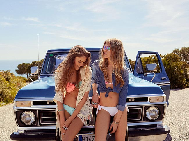 Bershka Summer 2015 Swimwear Designs