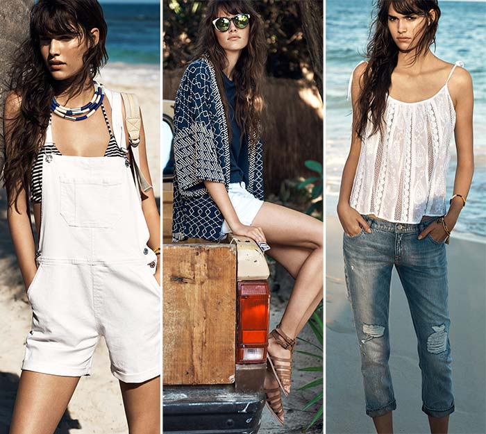 Mango's Surf Girl Summer 2015 Collection