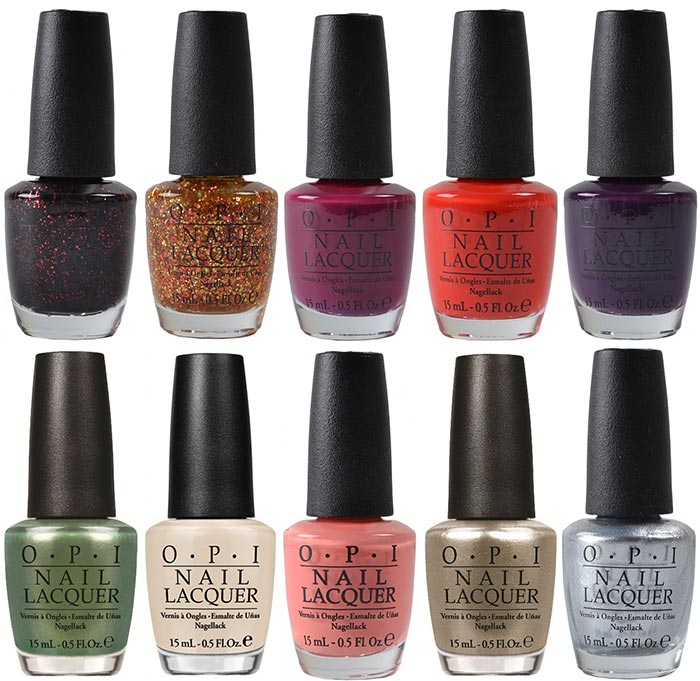 OPI Coca-Cola Anniversary Summer 2015 Nail Polish Collection