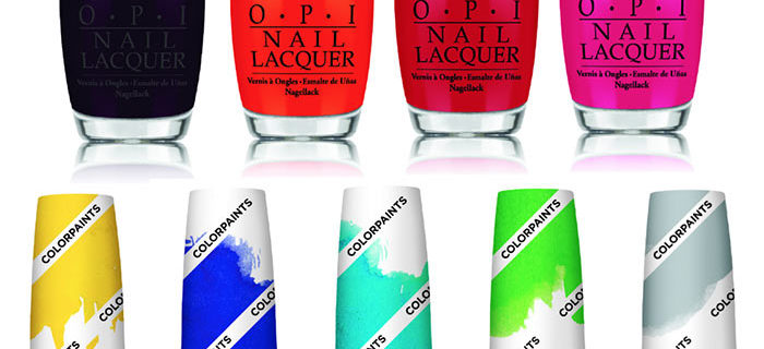 OPI Color Paints Summer 2015 Nail Polish Collection