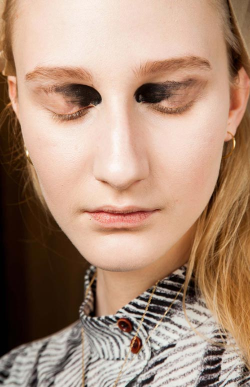 Fall 2015 Trend of Face Tattoos: Proenza Schouler