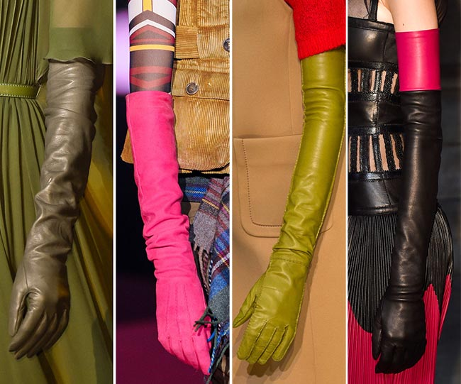 Fall/ Winter 2015-2016 Accessory Trends: Elbow Length Gloves
