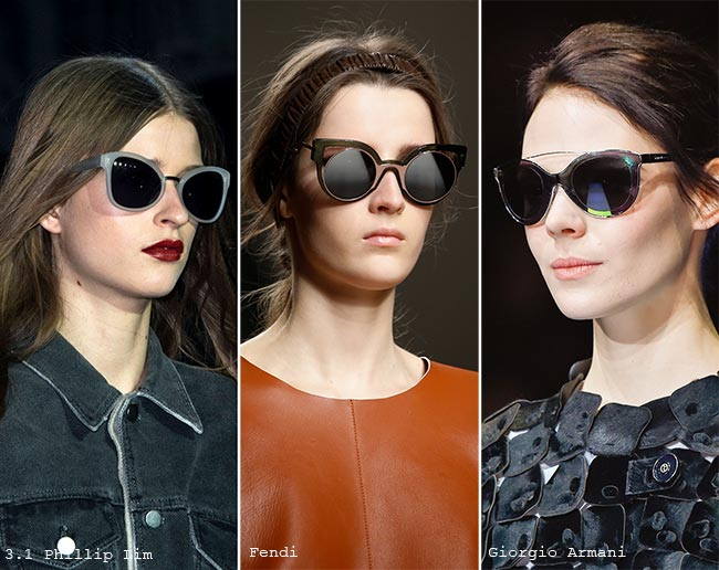 Fall/ Winter 2015-2016 Eyewear Trends: Cat Eye Sunglasses
