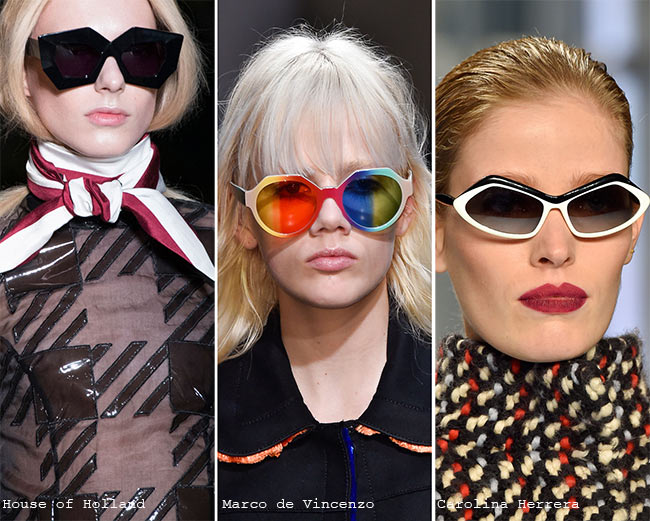 Fall/ Winter 2015-2016 Eyewear Trends: Unique, Funky Sunglasses