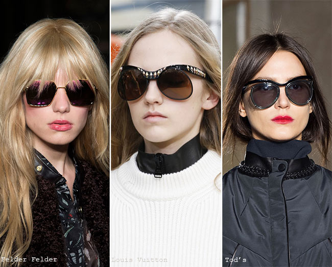 Fall/ Winter 2015-2016 Eyewear Trends: Futuristic Sunglasses