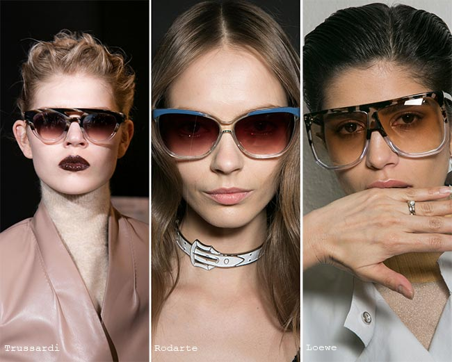 Fall/ Winter 2015-2019 Eyewear Trends: Sunglasses With Ombre Lenses