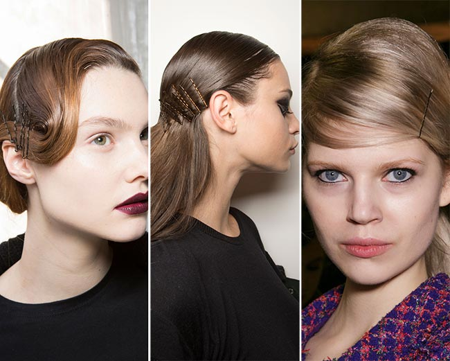 Fall/ Winter 2015-2016 Hair Accessory Trends: Bobby Pins