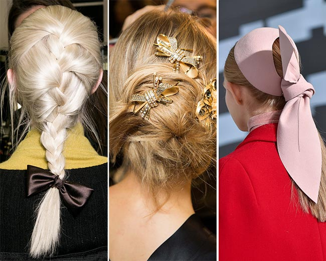 Fall/ Winter 2015-2016 Hair Accessory Trends: Bows