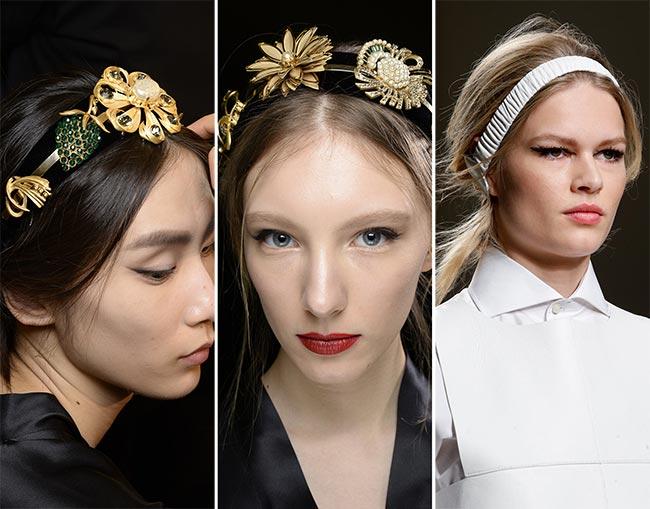 Fall/ Winter 2015-2016 Hair Accessory Trends: Headbands