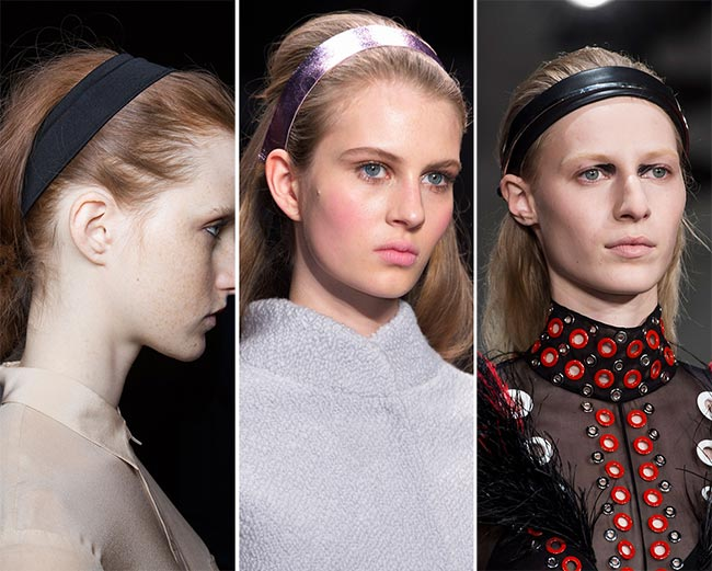 Fall/ Winter 2015-2016 Hair Accessory Trends: Headbands