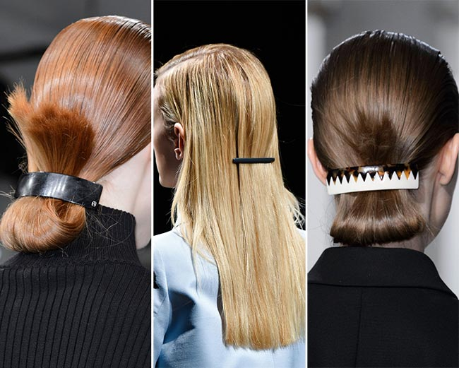 Fall/ Winter 2015-2016 Hair Accessory Trends: Minimalist Hair Clips