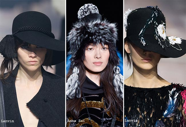 Fall/ Winter 2015-2016 Headwear Trends: Hats With Tassels and Fringes