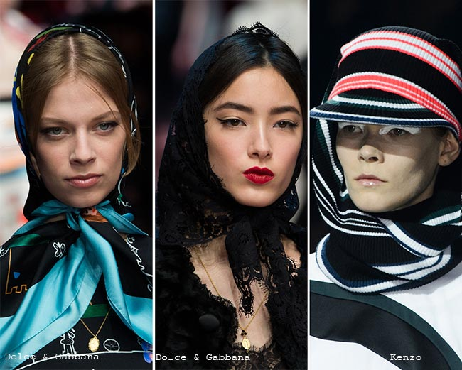 Fall/ Winter 2015-2016 Headwear Trends: Headscarves
