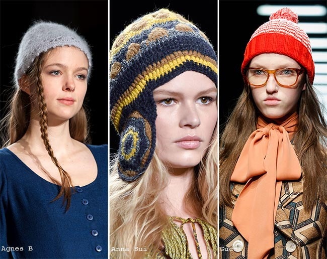 Fall/ Winter 2015-2016 Headwear Trends: Knitted Hats