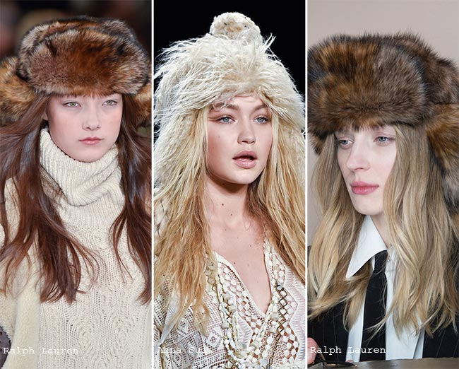 Fall/ Winter 2015-2016 Headwear Trends: Trapper Hats