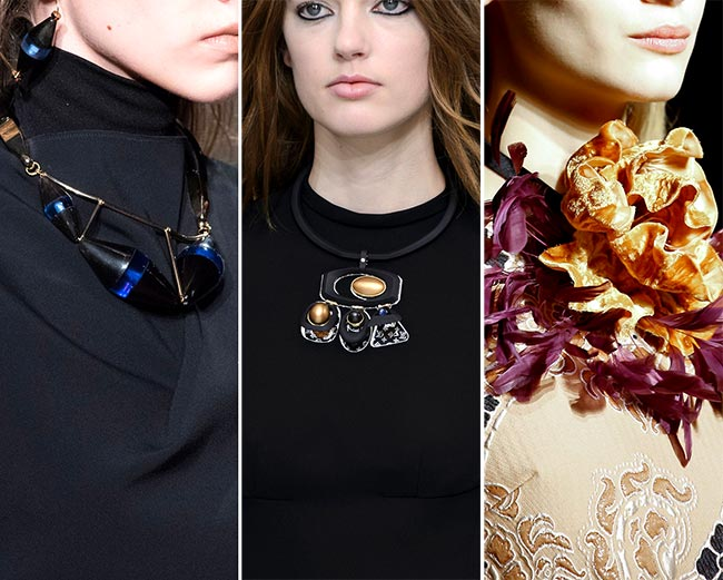 Fall/ Winter 2015-2016 Jewelry Trends: Trendy Necklaces
