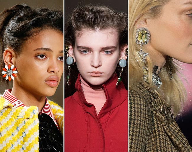 Fall/ Winter 2015-2016 Jewelry Trends: Trendy Earrings