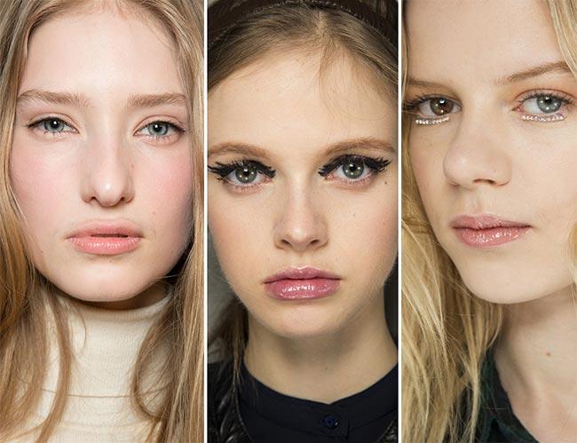 Fall/ Winter 2015-2016 Makeup Trends: Lip Gloss